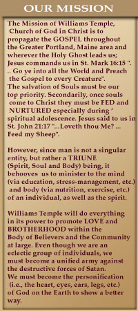 Williams Temple - Church Of God In Christ
